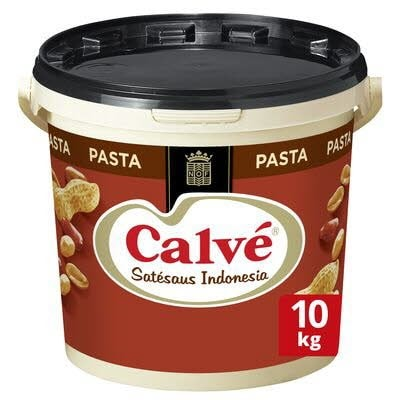 Calvé Satésaus Indonesia Pasta 10kg -