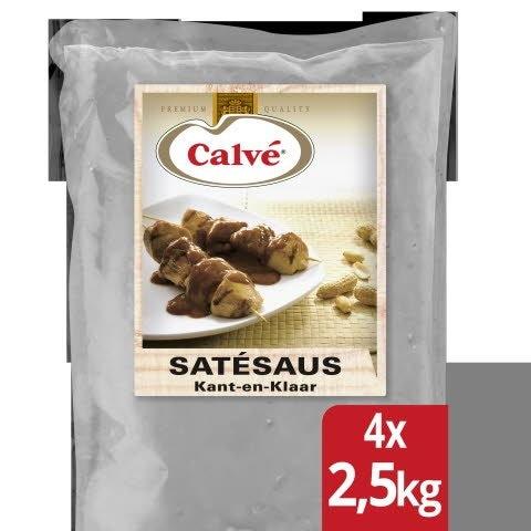 Calvé Satésaus Kant-en-Klaar 4x2,5L -