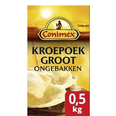 Conimex Kroepoek Ongebakken groot 0,5kg -
