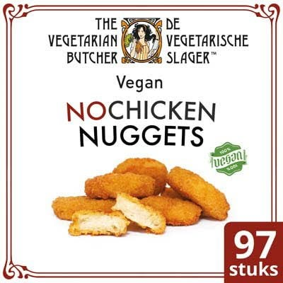 De Vegetarische Slager NoChicken Vegetarische Kipnuggets 1,75Kg -