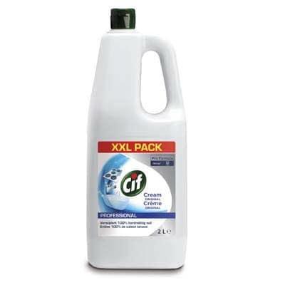 Cif Pro Formula Cream Original Schuurmiddel 2 L -