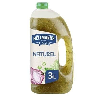 Hellmann's Naturel Dressing Vloeibaar 3L -