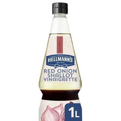 Hellmann's Sjalot Rode Ui Vinaigrette Vloeibaar 1L -