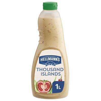 Hellmann's Thousand Islands Dressing Vloeibaar 1L -