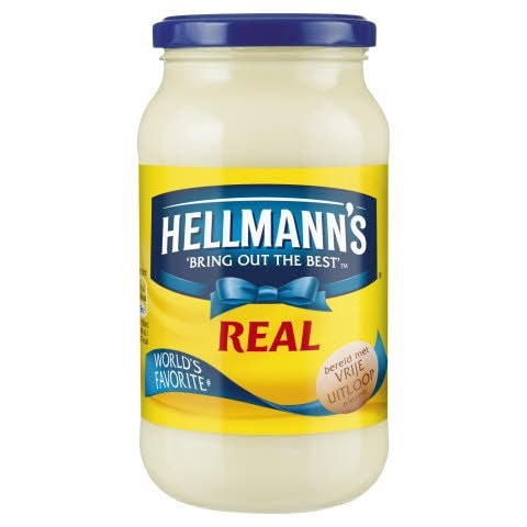 Hellmann's Real Mayonaise Pot -