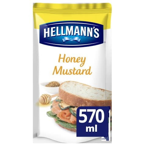 Hellmann's Sandwich Saus Honing Mosterd 570ml -