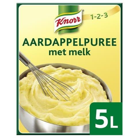 Knorr 1-2-3 Aardappelpuree met melk 5kg -