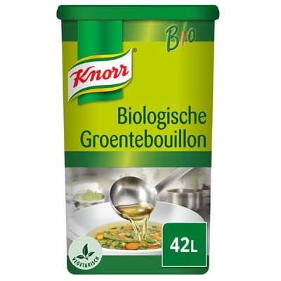 Knorr Biologische Groentebouillon opbrengst 42L -