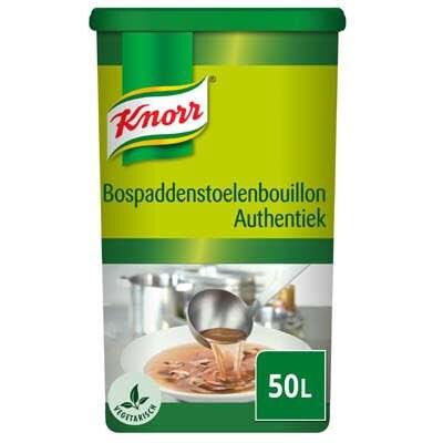 Knorr Bospaddenstoelenbouillon Authentiek Poeder opbrengst 50L -