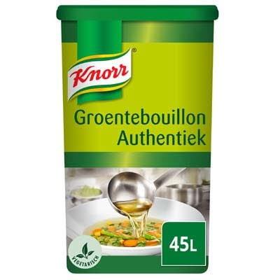 Knorr Groentebouillon Authentiek Poeder opbrengst 45L -