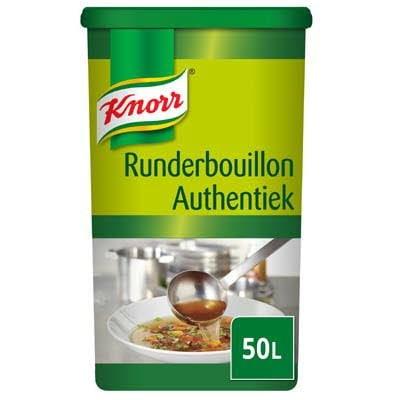 Knorr Runderbouillon Authentiek Poeder opbrengst 50L -