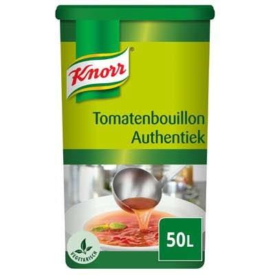 Knorr Tomatenbouillon Authentiek Poeder opbrengst 50L -