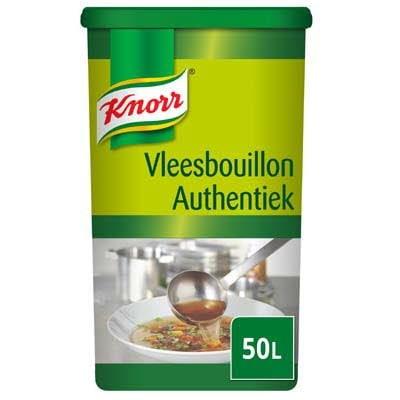 Knorr Vleesbouillon Authentiek Poeder opbrengst 50L -