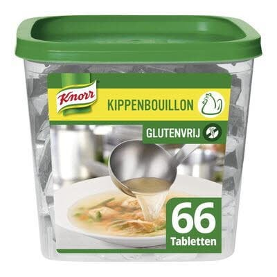 Knorr Kippenbouillon 66 tabletten -