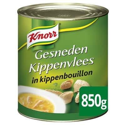 Knorr Soepverrijker Gesneden Kippenvlees 850g -