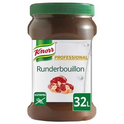 Knorr Professional Runderbouillon Gelei opbrengst 32L -