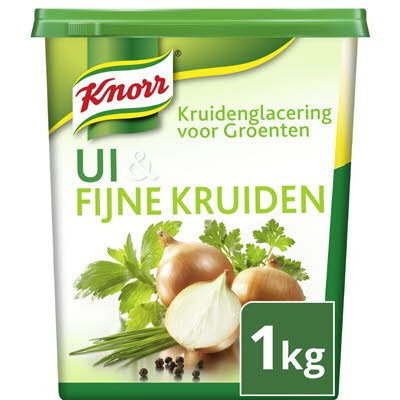 Knorr Kruidenglacering voor Groenten, Ui & Fijne Kruiden (Fresco) 1kg -