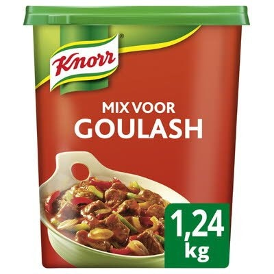 Knorr 1-2-3 Mix voor Goulash 1,24kg -