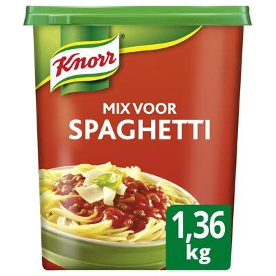 Knorr 1-2-3 Mix voor Spaghetti 1,36kg -