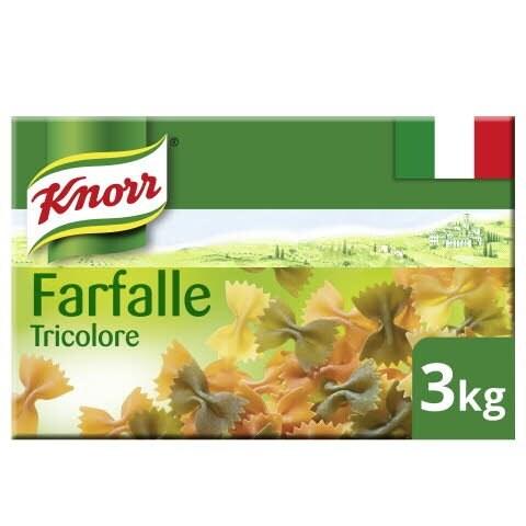 Knorr Collezione Italiana Farfalle Tricolore 3kg -