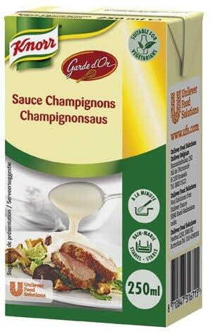Knorr Garde d'Or Champignonsaus 3 x 250 ml -