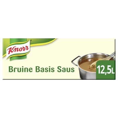 Knorr Garde d'Or Bruine Basis Saus 2,5kg -