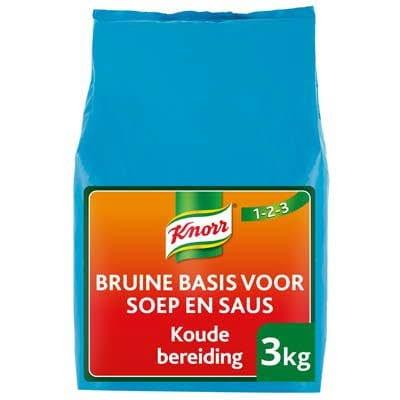 Knorr 1-2-3 Koude Basis Bruine Saus 3kg -