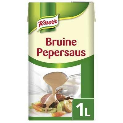 Knorr Garde d'Or Bruine Pepersaus 1L -