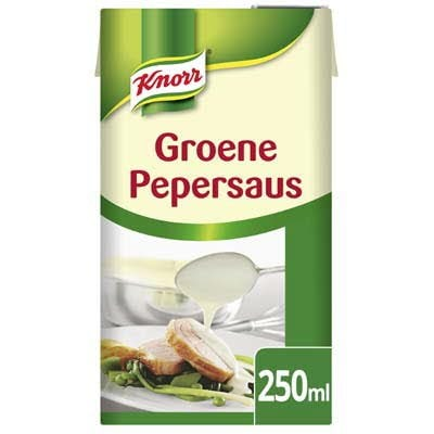 Knorr Garde d'Or Groene Peper Saus 250ml -