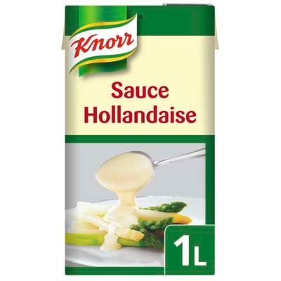 Knorr Garde d'Or Hollandaise Saus 1L - De nummer 1 in de professionele keuken*