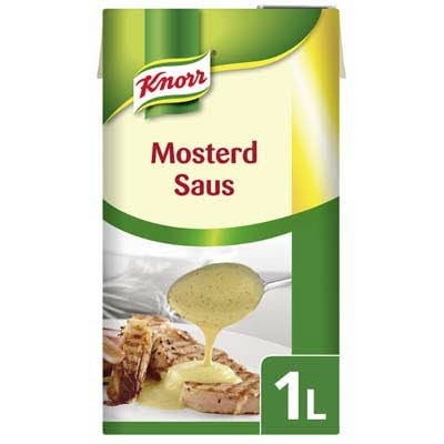 Knorr Garde d'Or Mosterd Saus 1L -