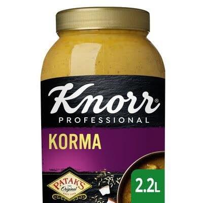 Knorr Patak's Korma Curry Saus 2.2 L -