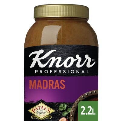 Knorr Patak's Madras Curry Saus 2.2 L -