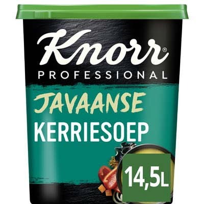 Knorr Javaanse Kerriesoep Poeder opbrengst 14,5L -