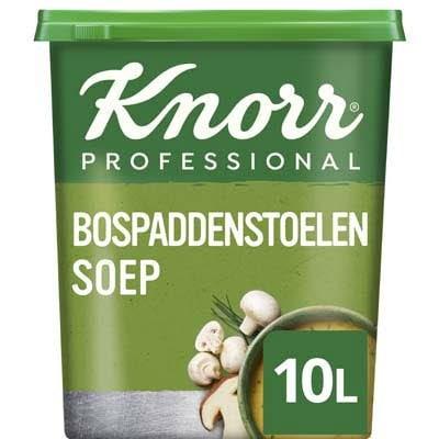 Knorr Klassiek Bospaddenstoelensoep Poeder opbrengst 10L -