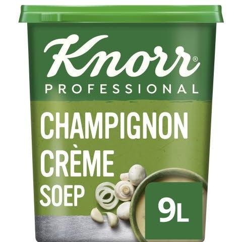 Knorr Klassiek Champignon Crèmesoep Poeder opbrengst 9L -