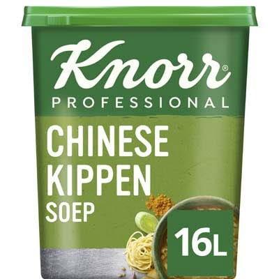 Knorr Klassiek Chinese Kippensoep opbrengst 16L -