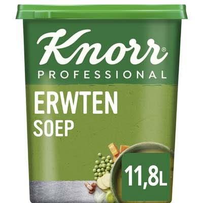Knorr Klassiek Erwtensoep Poeder opbrengst 12L -