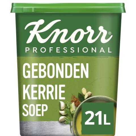 Knorr Klassiek Gebonden Kerriesoep Poeder opbrengst 21L -