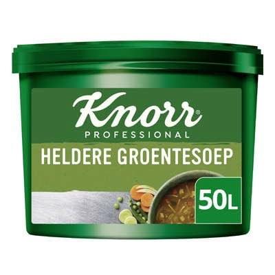 Knorr Klassiek Heldere Groentesoep Poeder opbrengst 50L -