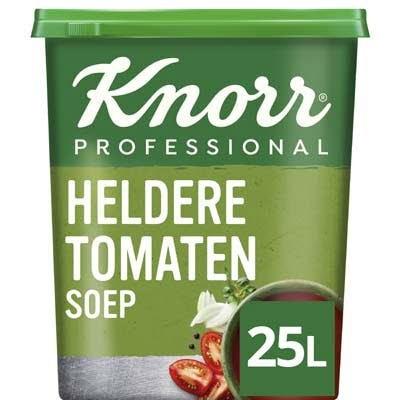 Knorr Klassiek Heldere Tomatensoep opbrengst 25L -