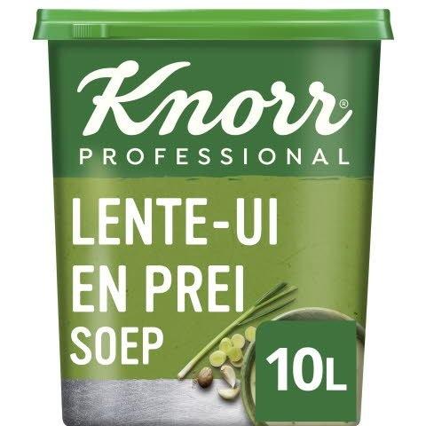 Knorr Klassiek Lente-Ui en Preisoep Poeder opbrengst 10L -