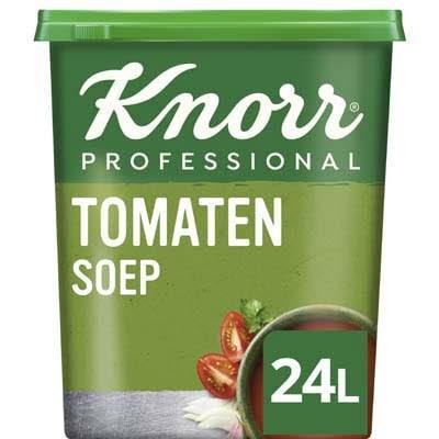 Knorr Klassiek Tomatensoep Poeder opbrengst 24L -