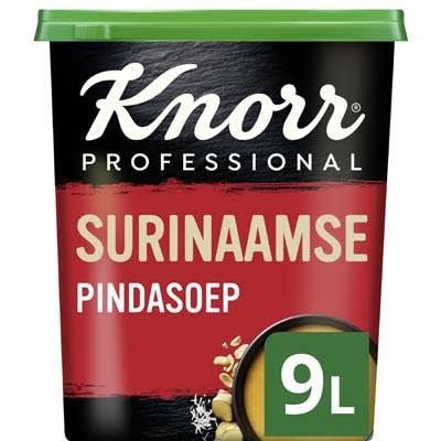 Knorr Surinaamse Pindasoep Poeder opbrengst 9L -