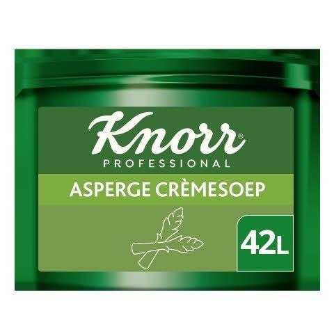 Knorr Voordeel Asperge Crèmesoep Poeder opbrengst 43L -