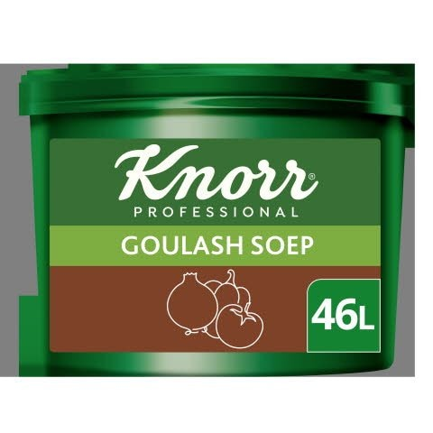 Knorr Voordeel Hongaarse Goulashsoep Poeder opbrengst 46L -