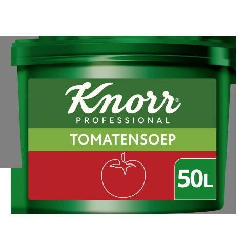 Knorr Voordeel Tomatensoep Poeder Opbrengst 50L -