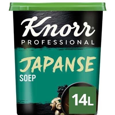 Knorr Wereld Japanse Soep Poeder opbrengst 14L -