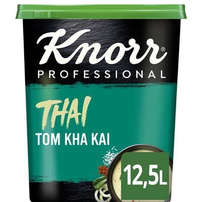 Knorr Wereld Thai Tom Kha Kai Poeder opbrengst 12,5L -