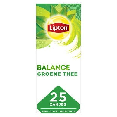 Lipton Feel Good Selection Groene Thee 25 zakjes -